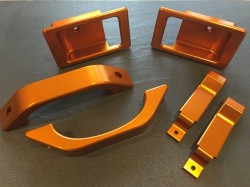 Defender Door Kit in phoenix orange